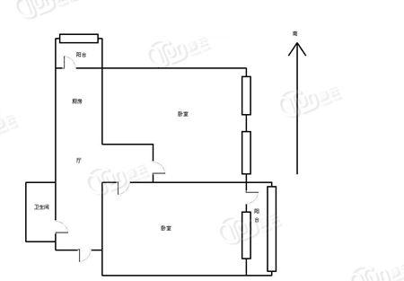 裕德里大楼-户型图