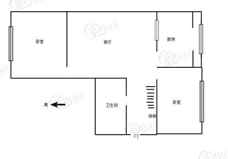 新津小区秀波园-户型图