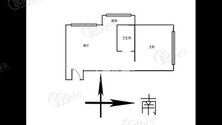 中山门北里-户型图