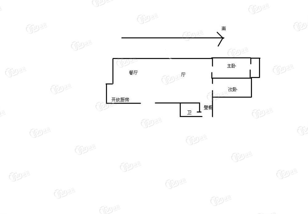 金湾花园-户型图