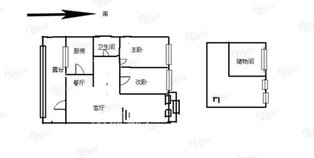 14米x9米二层房设计图