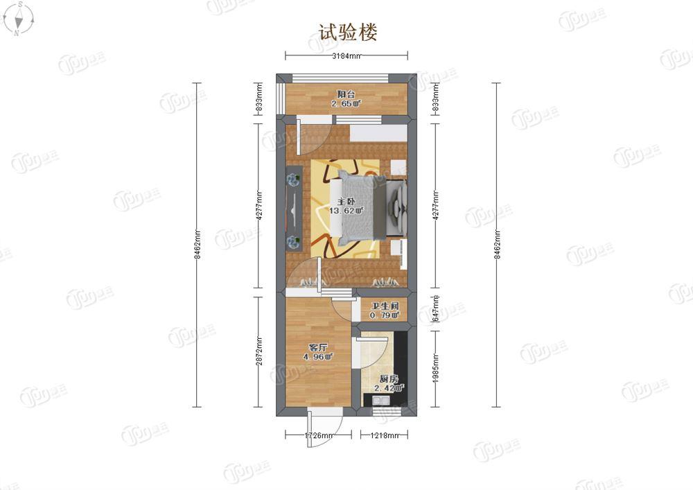 宽8米长15房屋设计图展示